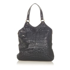 Leather Shoulder Bag Yves Saint Laurent
