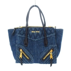 Non-Leather Oversize Bag Miu Miu