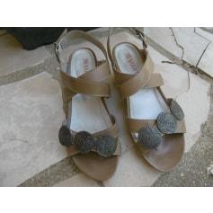 Sandales compensées JB Martin  pas cher