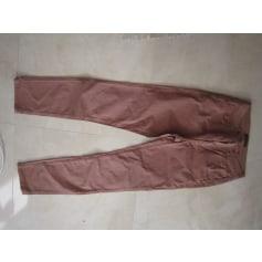 Pantalon droit Trussardi Jeans  pas cher