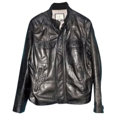Leather Jacket Façonnable