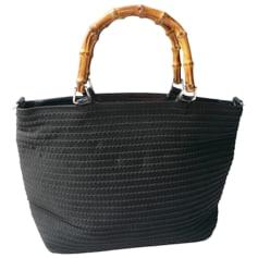 Non-Leather Handbag Gucci Bambou