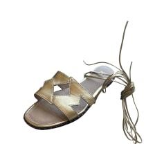 Sandales plates  Maje  pas cher
