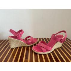 Sandales compensées André  pas cher