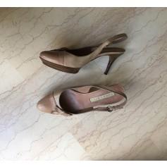 Sandales à talons Pura Lopez  pas cher