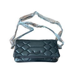 Leather Clutch Zadig & Voltaire