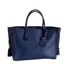 Borsa XL in pelle Longchamp Penelope