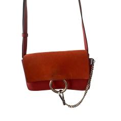 Leather Shoulder Bag Chloé Faye