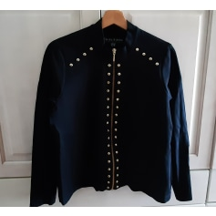 Blazer, veste tailleur Bleu D'Azur  pas cher