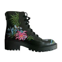 Flat Ankle Boots Kenzo