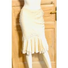 Jupe mi-longue Dior  pas cher