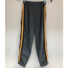 Pantalon droit Bershka  pas cher