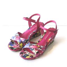 Sandales compensées Enza Nucci  pas cher
