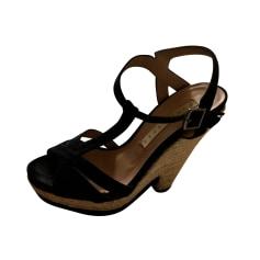 Sandales compensées Pura Lopez  pas cher