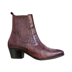 Cowboy Ankle Boots Sandro