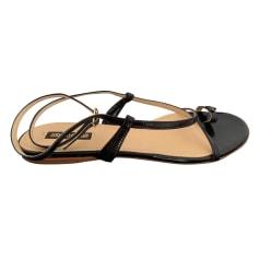 Sandales plates  Roberto Cavalli  pas cher