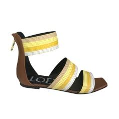 Sandales plates  Loewe  pas cher
