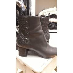 High Heel Ankle Boots Louis Vuitton Run Away