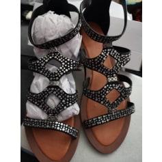 Sandales plates  Suredelle  pas cher