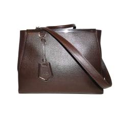 Leather Handbag Fendi 2Jours