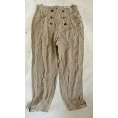 Pantalon carotte Feeling  pas cher