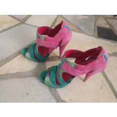 Sandales à talons Cosmo  pas cher