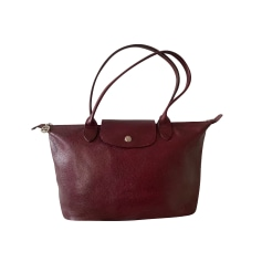 Sacs à main en cuir Longchamp Femme au meilleur prix - Videdressing