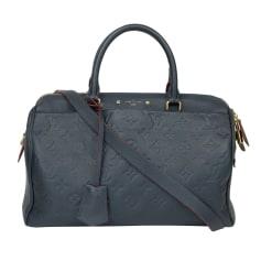 Leather Shoulder Bag Louis Vuitton Speedy