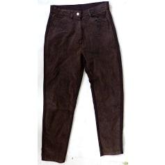 Pantalon slim, cigarette Colours Of The World  pas cher