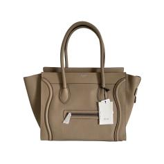 Leather Handbag Céline Luggage