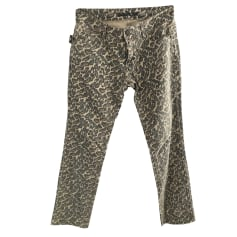 Pantalon droit Zadig & Voltaire  pas cher