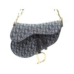 Lederhandtasche Dior Saddle