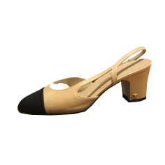 Heeled Sandals Chanel Slingback