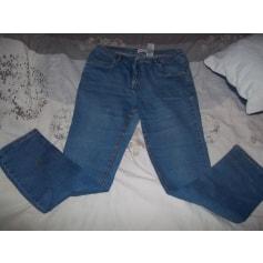 Jeans droit John Baner  pas cher