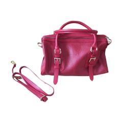 Leather Handbag Alain Manoukian