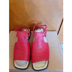 Sandales à talons via veneto  pas cher