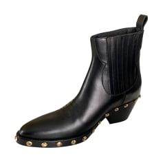Cowboy Ankle Boots Maje