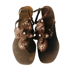 Sandales à talons Miu Miu  pas cher