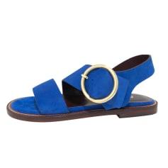 Sandales plates  Avril Gau  pas cher
