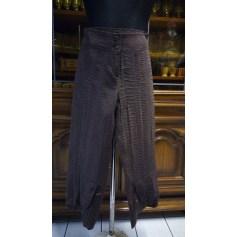 Pantalon droit Jean Delfin  pas cher