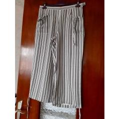 Pantalon large Anne Weyburn  pas cher