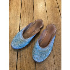 Hausschuhe, Pantoffeln Antik Batik