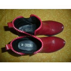Bottines & low boots plates Merry scott  pas cher