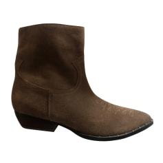 Santiags, bottines, low boots cowboy Sam Edelman  pas cher