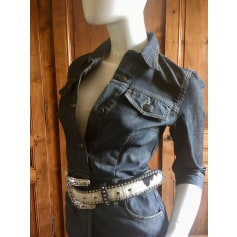Robe en jeans Massimo Dutti  pas cher