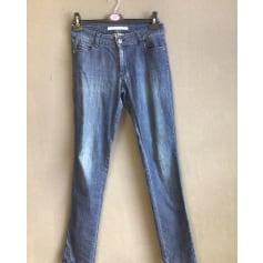 Jeans slim Pianurastudio  pas cher