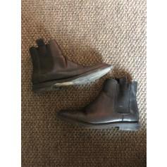 Bottines & low boots plates Zara  pas cher