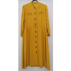 Robe mi-longue sans marque  pas cher