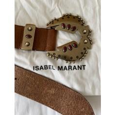 Ceinture large Isabel Marant  pas cher