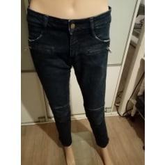 Jeans slim Acquaverde  pas cher